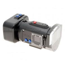 Recsea X1000VR防水壳 [索尼 4K摄像机 FDR-X1000V 和 背屏RM-LVR2用]
